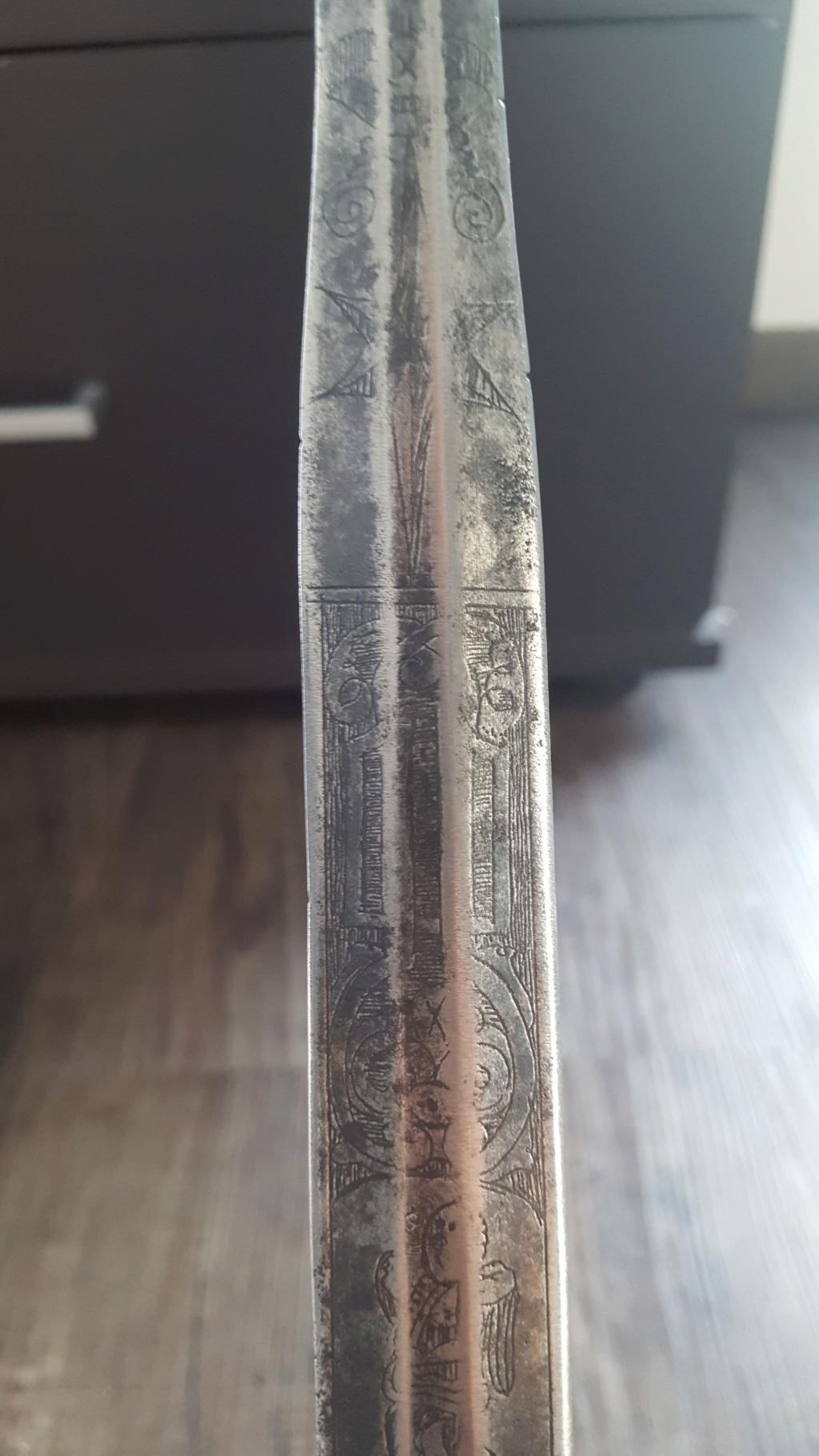 Épée à la colichemarde  20190954