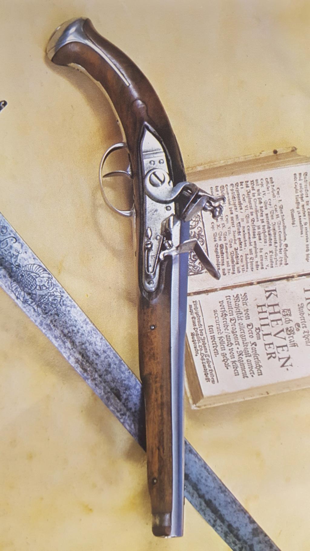 identification pistolet à silex prussien allemand autrichien ? sans baguette 20191021