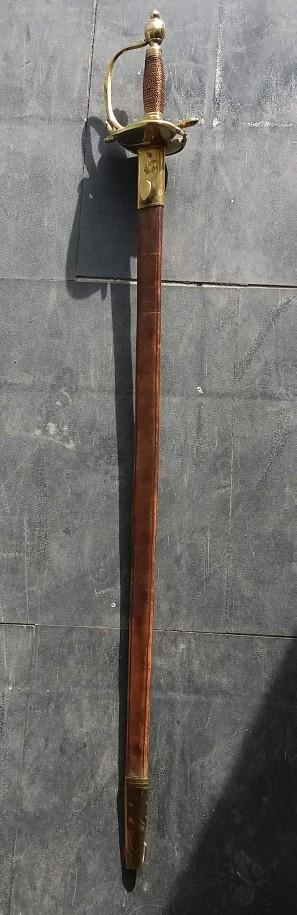 Estimation épée d'uniforme Receiv11