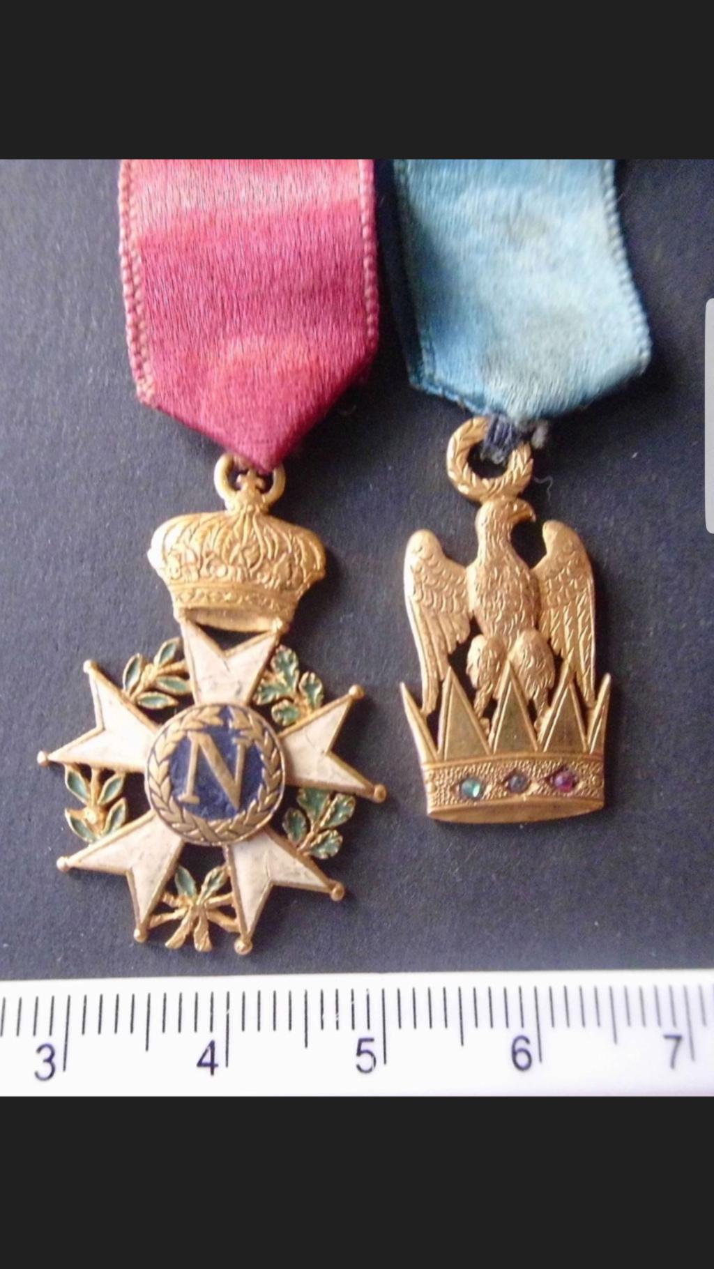 Identification et estimation médaille période Napoléon  Screen13