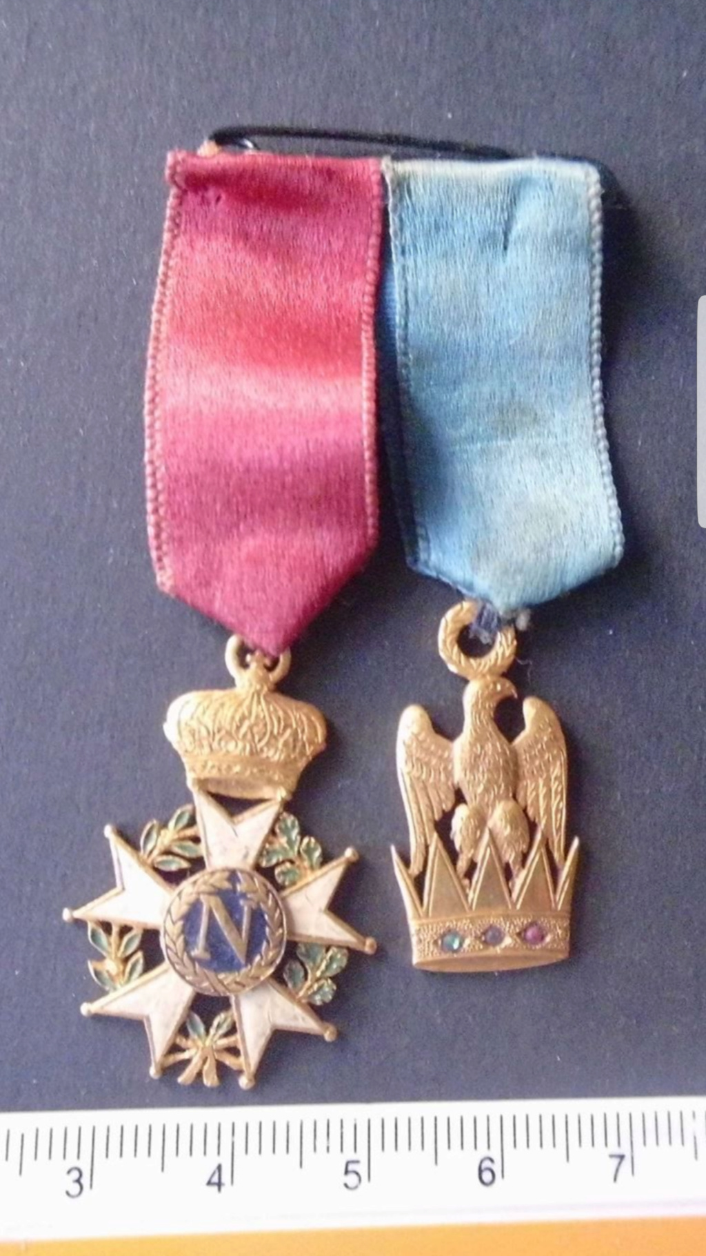 Identification et estimation médaille période Napoléon  Screen14
