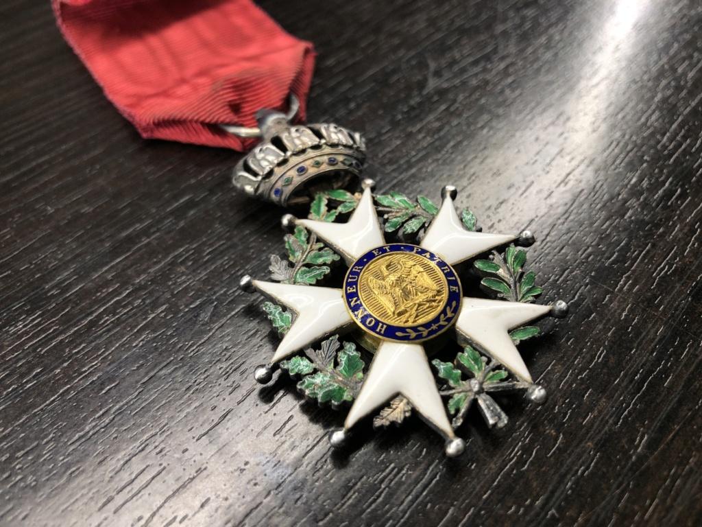 Légion d'honneur second empire avec trace de cire. 1c0ff810