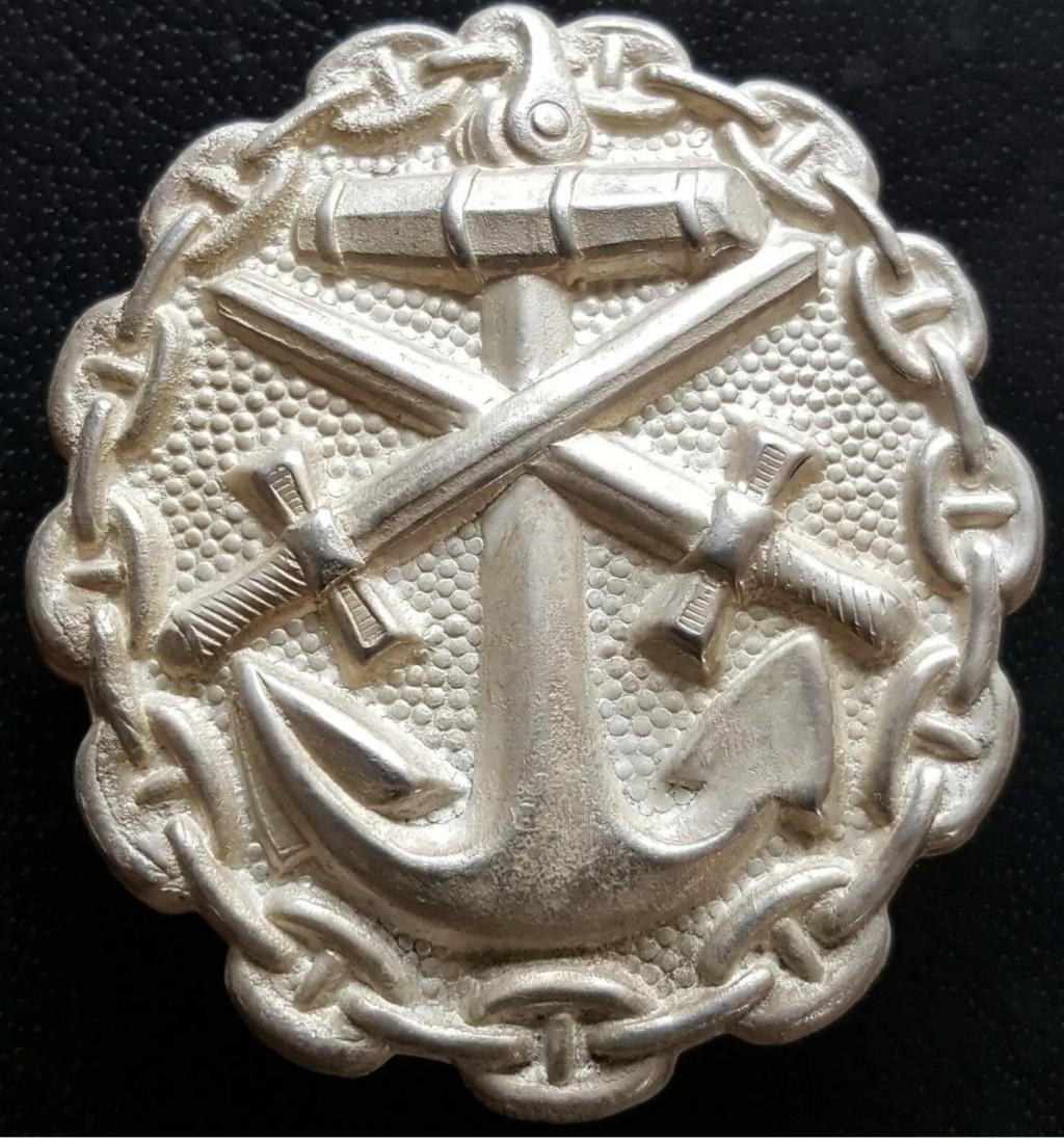 Badge des blessés Kaiserliche Marine 32c21b10