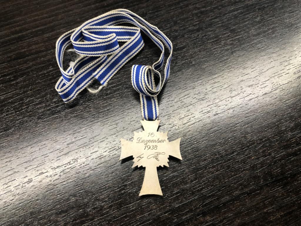 Authentification Mutterkreuz argent 340a2d10