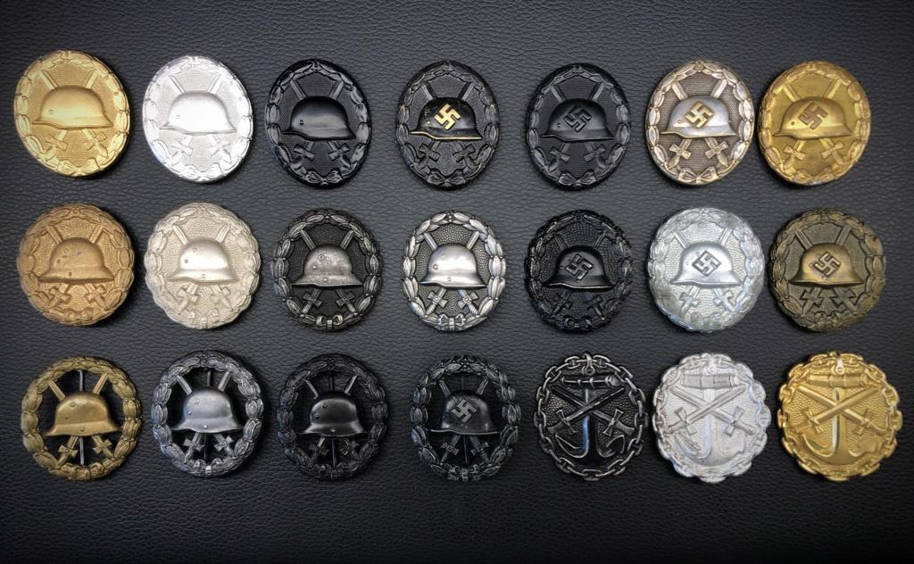 Ma collection de badges des blessés. 352de210