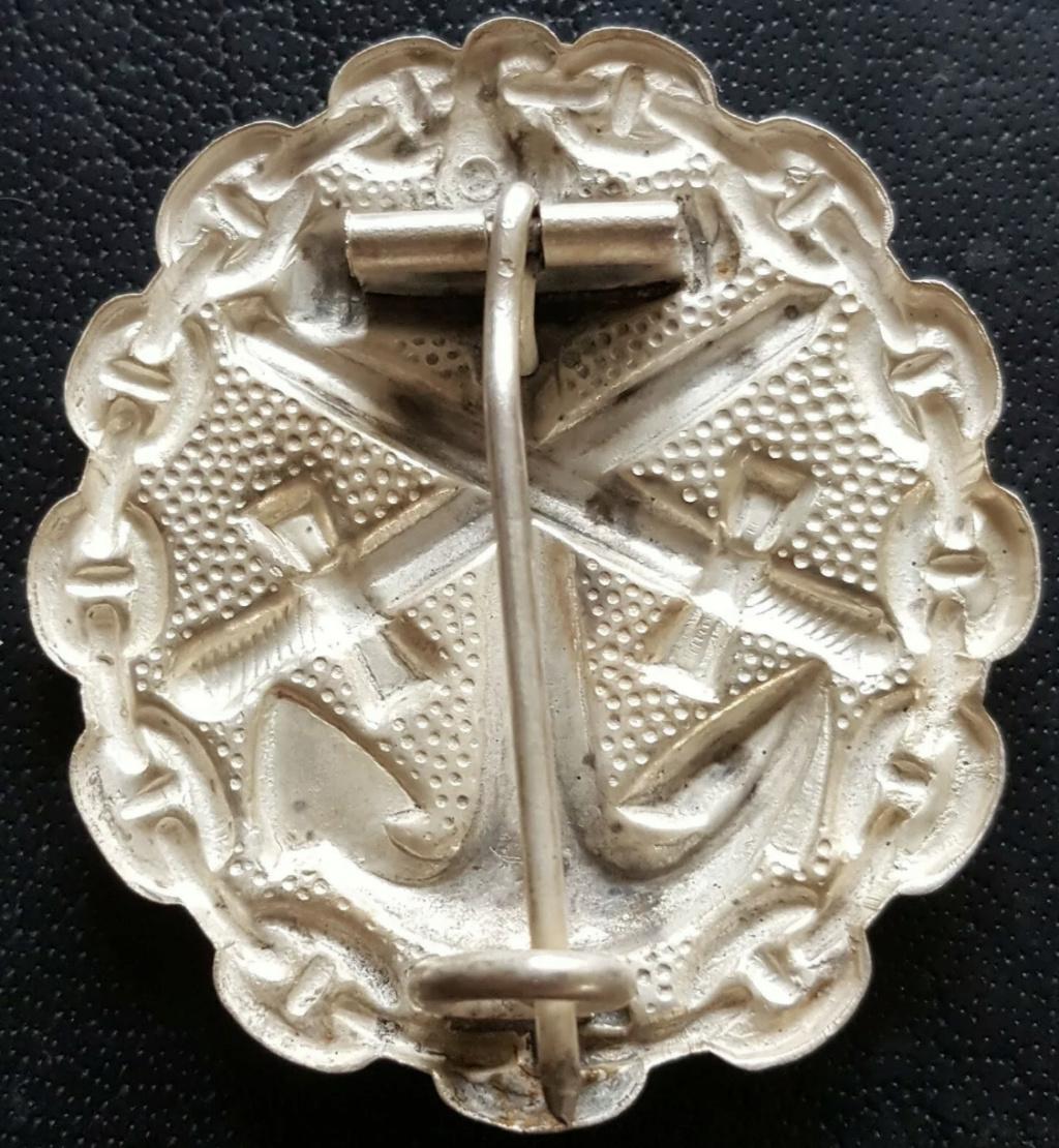 Badge des blessés Kaiserliche Marine 39e2da10