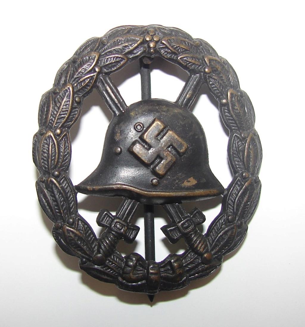 Badge des blessés ajourée 3c67e910