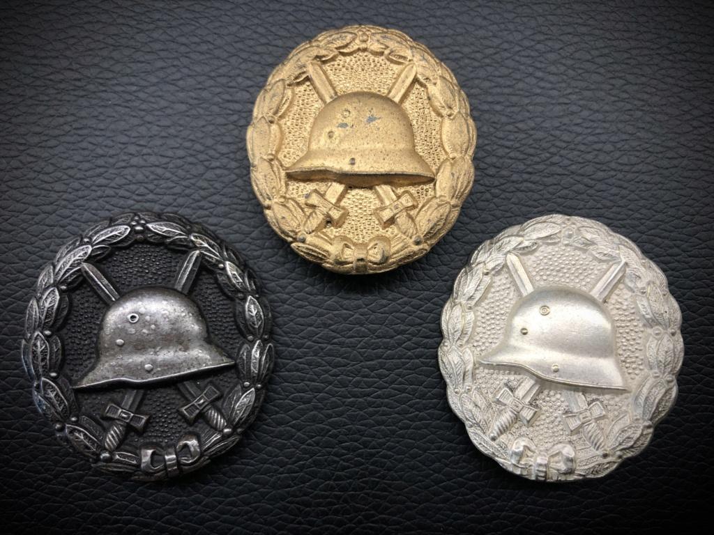 Ma collection de badges des blessés. 511c1910