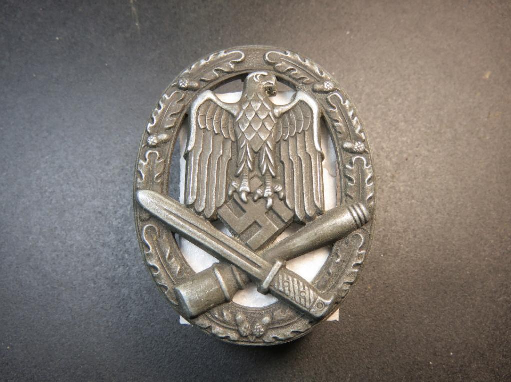 Authentification Insigne Assaut Général  55ce3d10