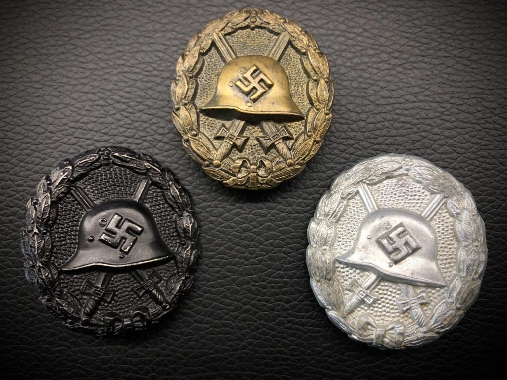 Ma collection de badges des blessés. 68229510