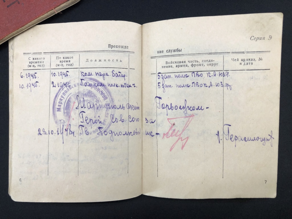 Livret Soviétique RKKA 7c967410