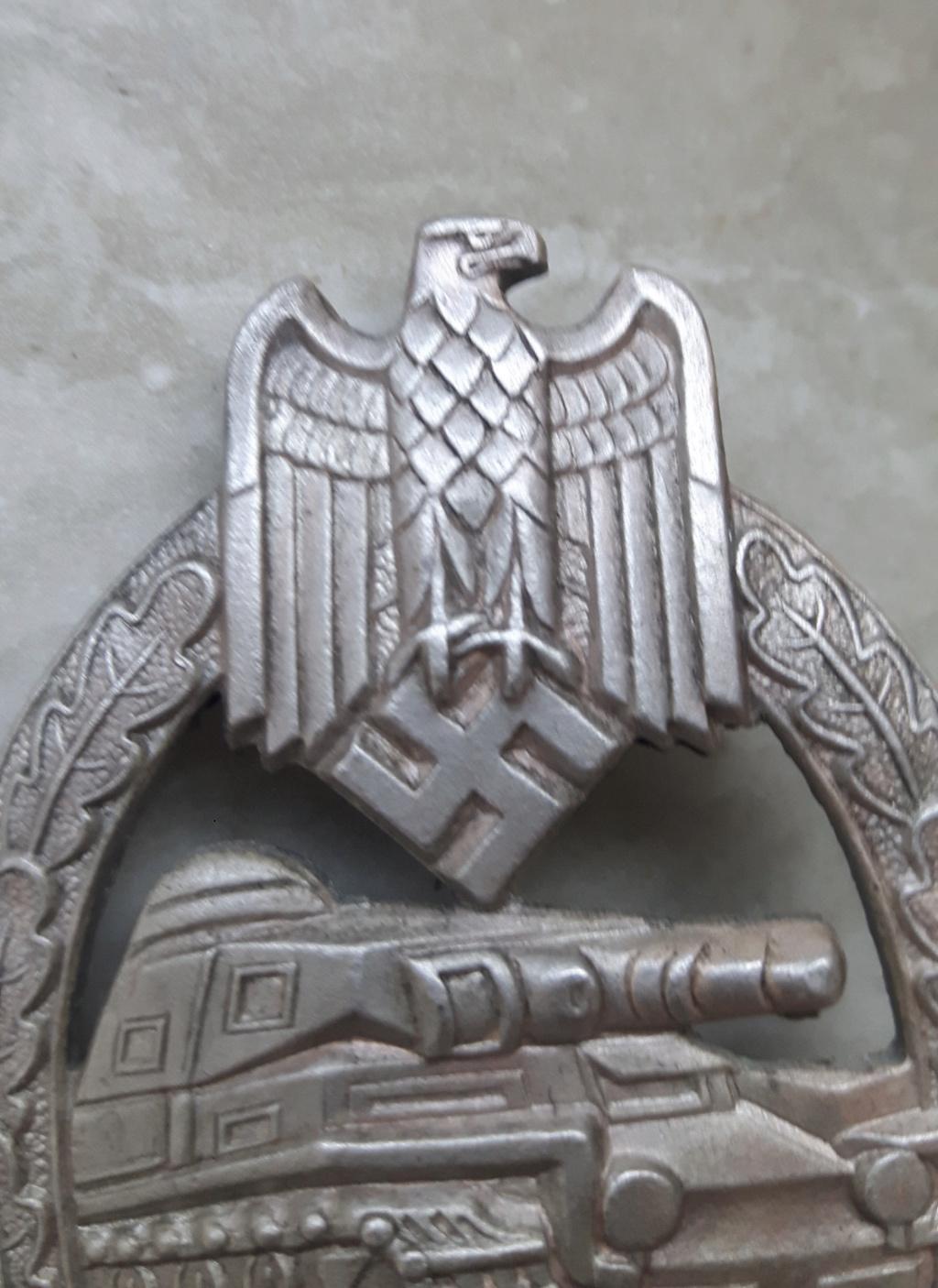 Avis pour un Panzerkampfabzeichen 885f2e10