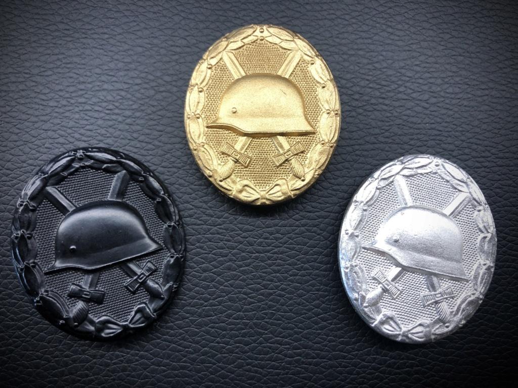 Ma collection de badges des blessés. 8c88de10