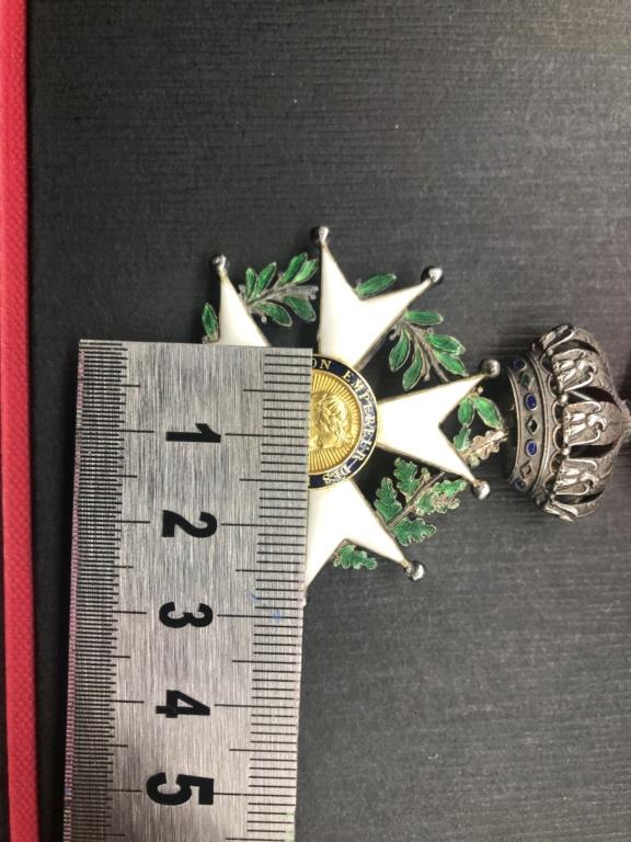 Légion d'honneur second empire avec trace de cire. 8e19e010
