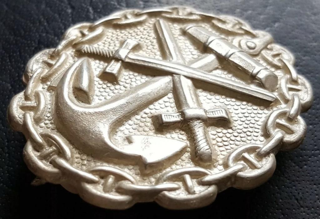 Badge des blessés Kaiserliche Marine 917bbc10