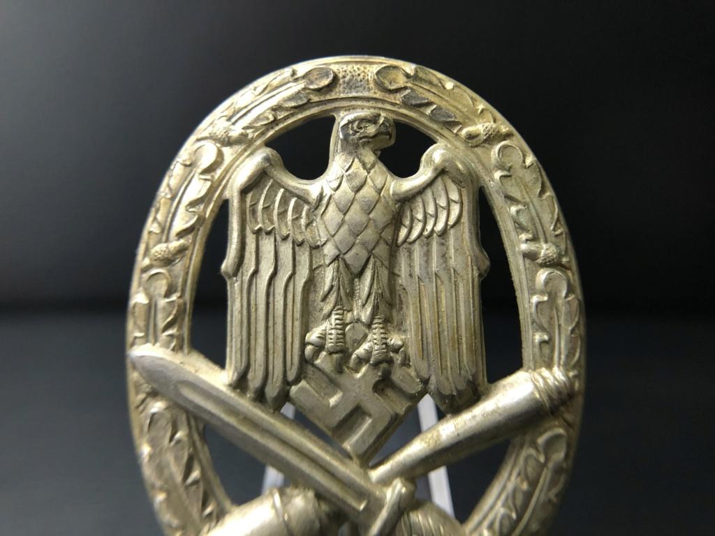 Insigne d'assaut général Karneth. 9a174610