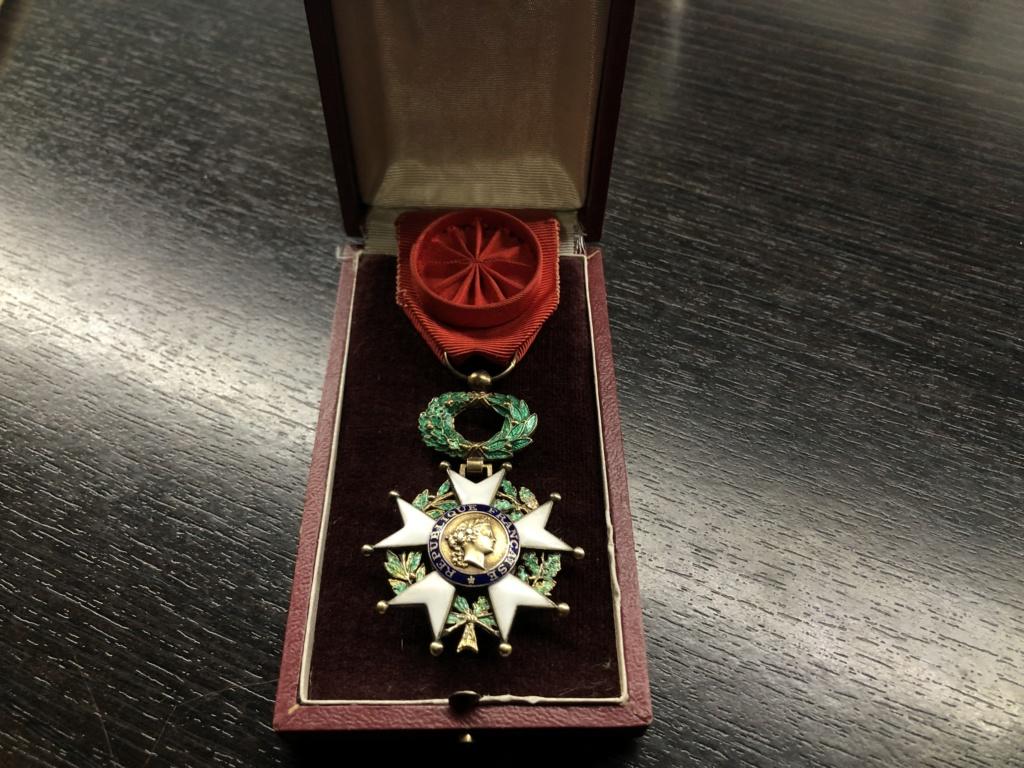 Légion d'Honneur quatrième république. B96d3710