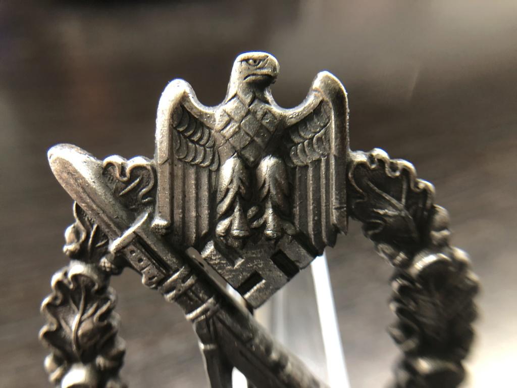 Insigne d'assaut d'infanterie Argent aide Fabricant D05a7510