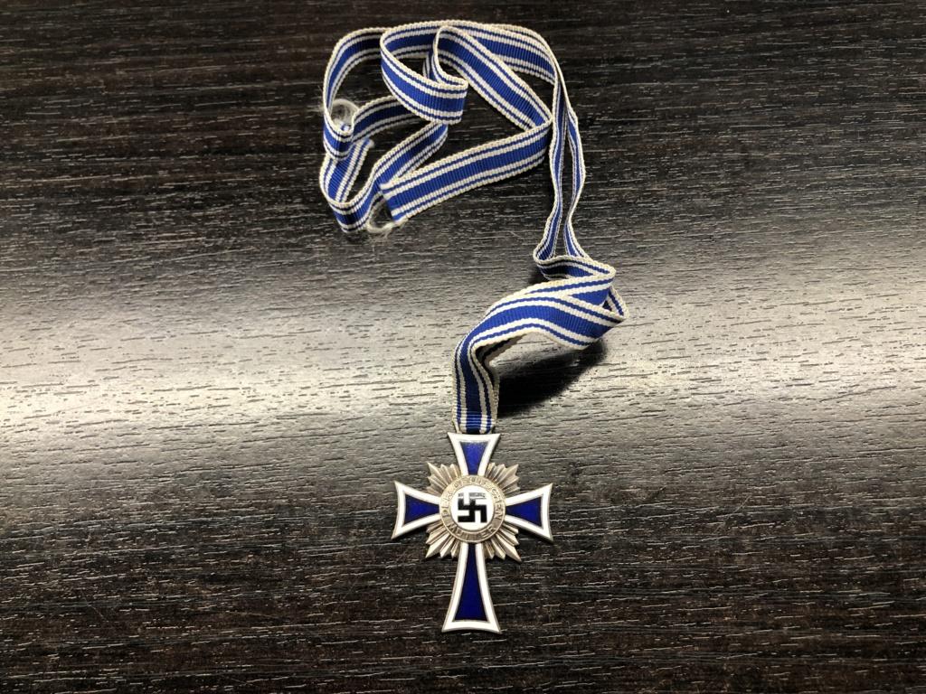 Authentification Mutterkreuz argent Fc57bb10