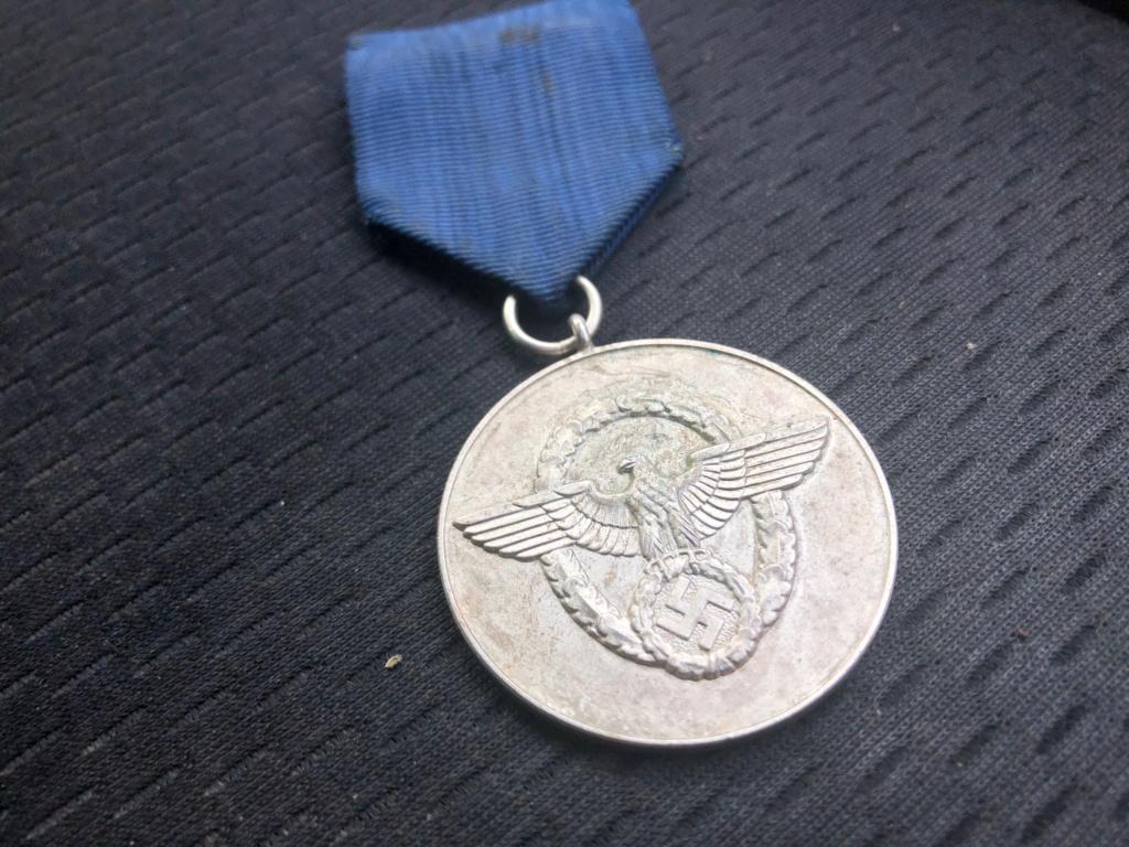 Médaille Polizei-Dienstauszeichnung Img_5510
