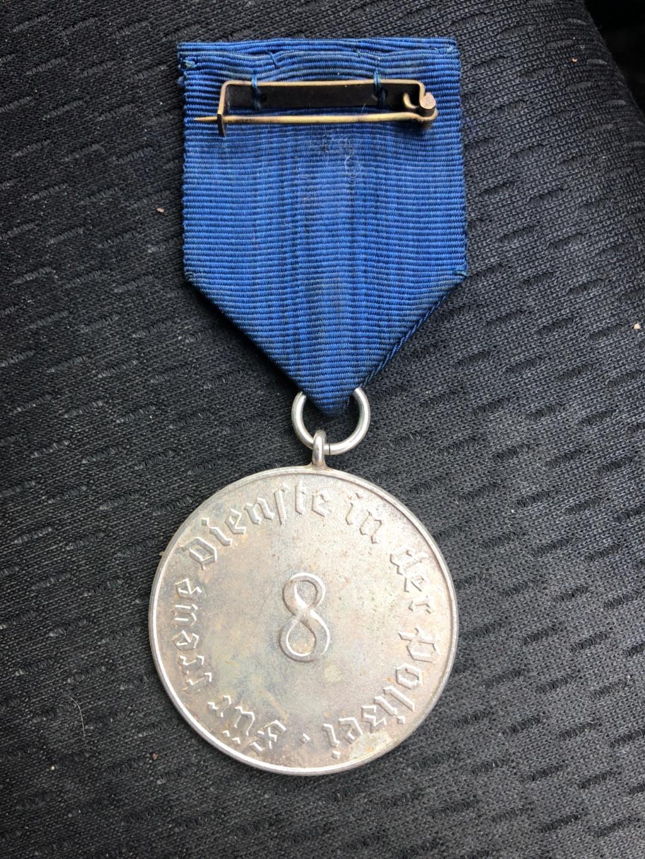 Médaille Polizei-Dienstauszeichnung Img_5511