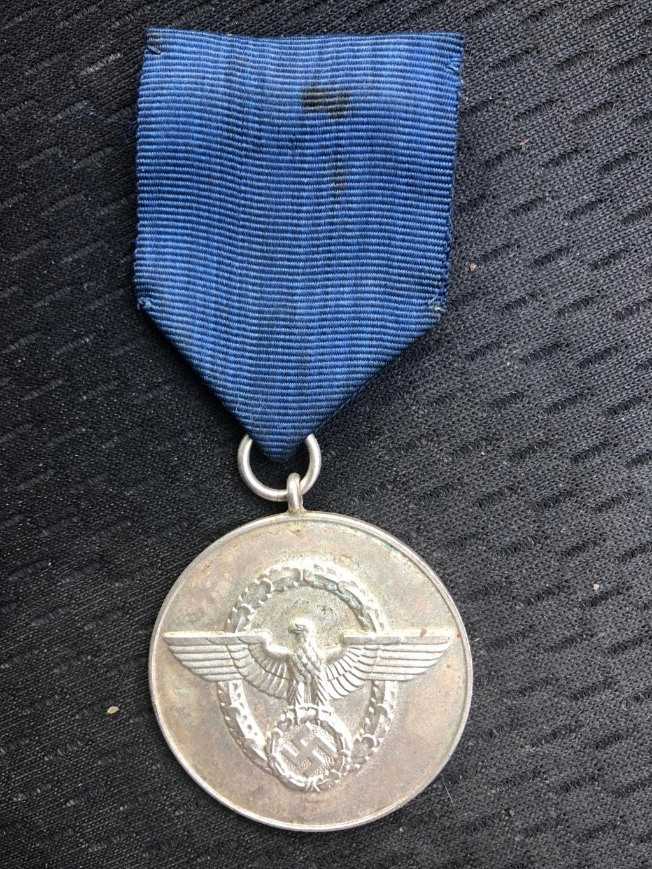 Médaille Polizei-Dienstauszeichnung Img_5512