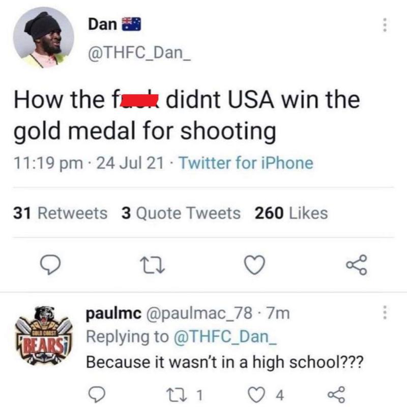 La médaille d'or en tir 897c9210