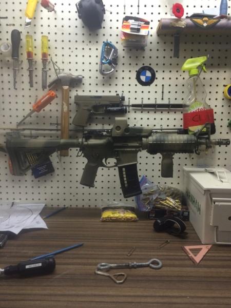 On peut parlez aussi d'armes durant cette crise de confinement Image345