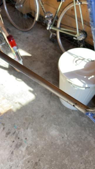 cadre Lucchini en Columbus SL 56, réstauration 5c10e810