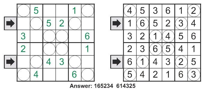Diagonal Sudoku Primer11