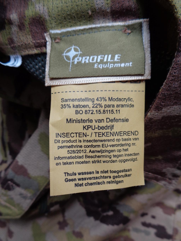 Dutch uniform and body armor as used in Mali, Fibrotex Fightex and Profile Equipment Moral SF, and more related gear (Profile, Diamondback) Dsc00030