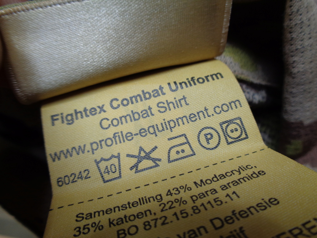 Dutch uniform and body armor as used in Mali, Fibrotex Fightex and Profile Equipment Moral SF, and more related gear (Profile, Diamondback) Dsc00034