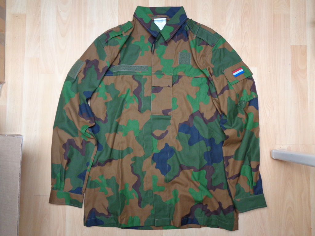 Dutch camo uniforms, newer versions from around 2008 onwards Dsc00049