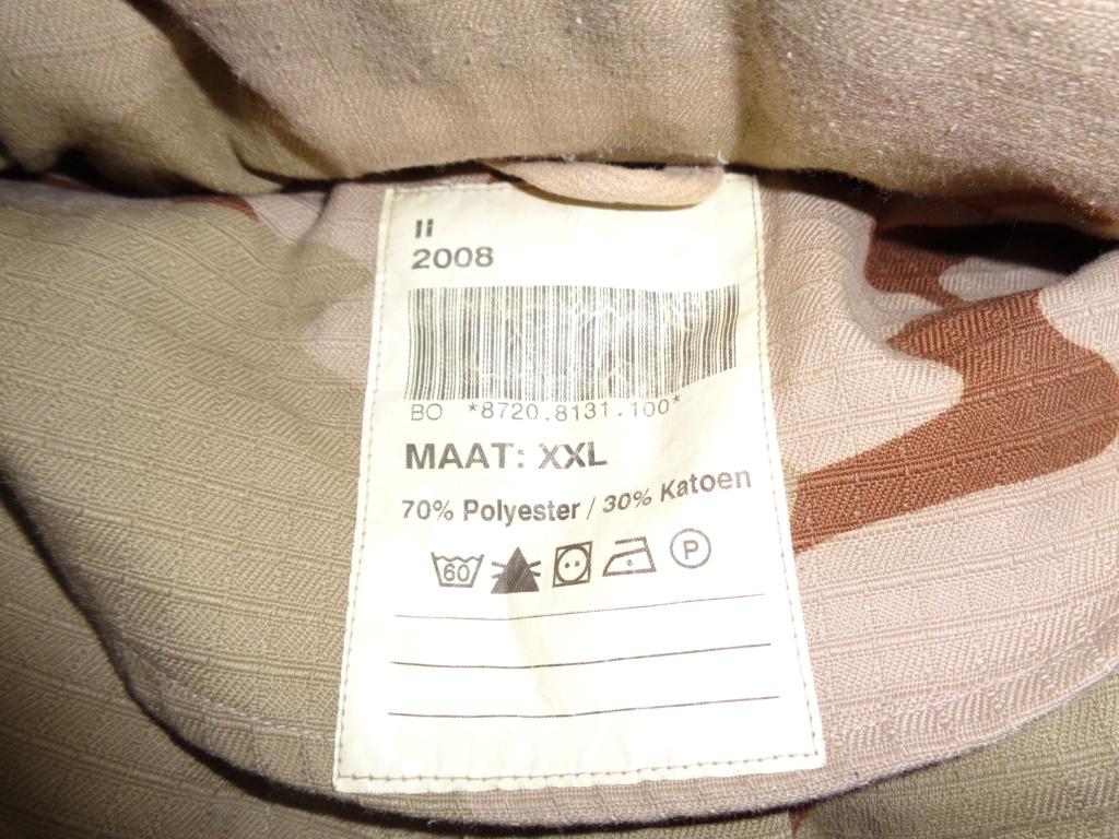 Dutch camo uniforms, newer versions from around 2008 onwards Dsc00052