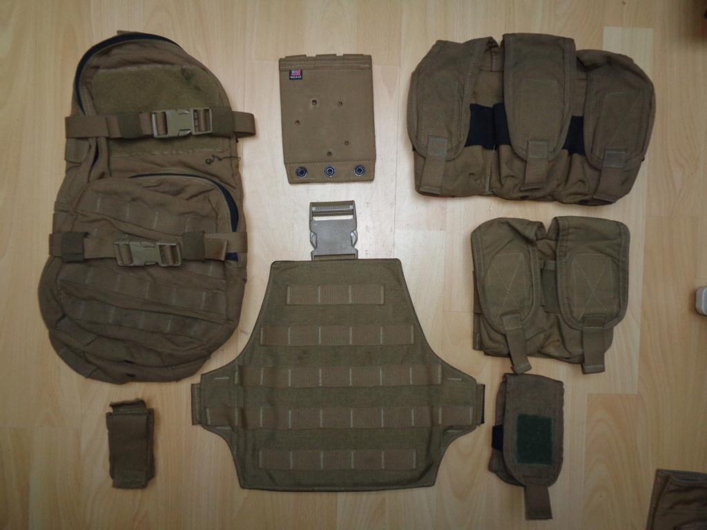 Dutch uniform and body armor as used in Mali, Fibrotex Fightex and Profile Equipment Moral SF, and more related gear (Profile, Diamondback) Dsc00214