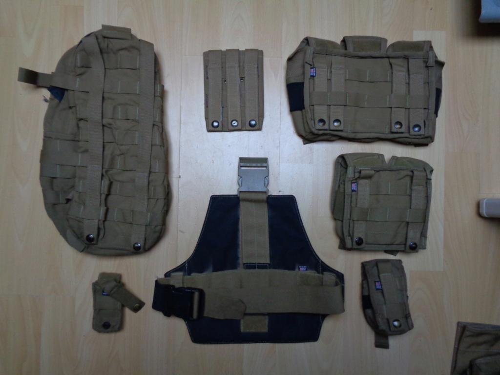 Dutch uniform and body armor as used in Mali, Fibrotex Fightex and Profile Equipment Moral SF, and more related gear (Profile, Diamondback) Dsc00215
