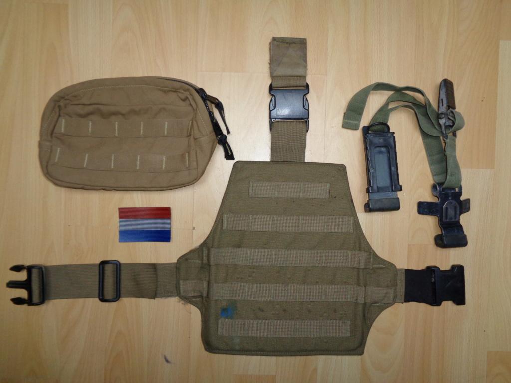 Dutch uniform and body armor as used in Mali, Fibrotex Fightex and Profile Equipment Moral SF, and more related gear (Profile, Diamondback) Dsc00216