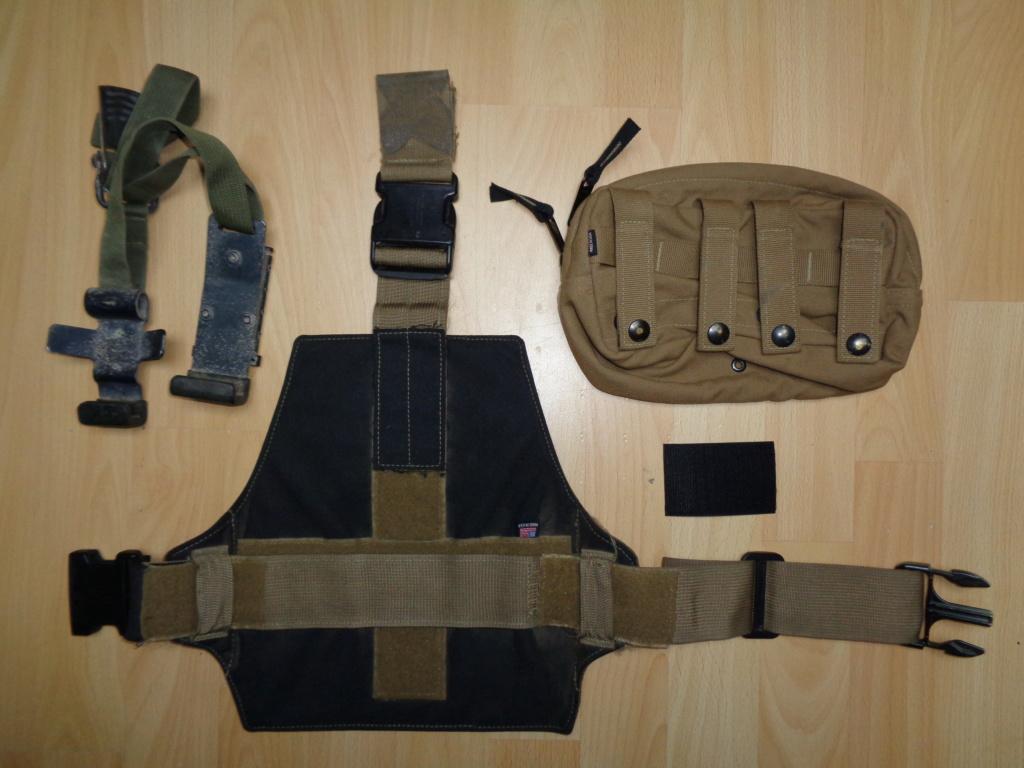 Dutch uniform and body armor as used in Mali, Fibrotex Fightex and Profile Equipment Moral SF, and more related gear (Profile, Diamondback) Dsc00217