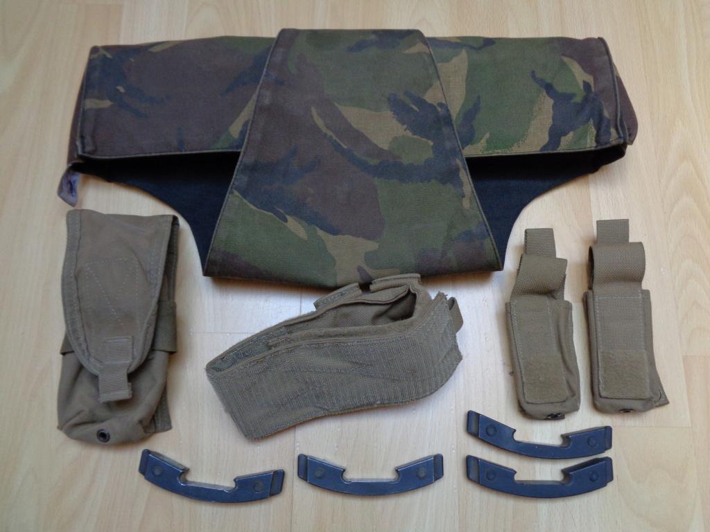 Dutch uniform and body armor as used in Mali, Fibrotex Fightex and Profile Equipment Moral SF, and more related gear (Profile, Diamondback) Dsc00218