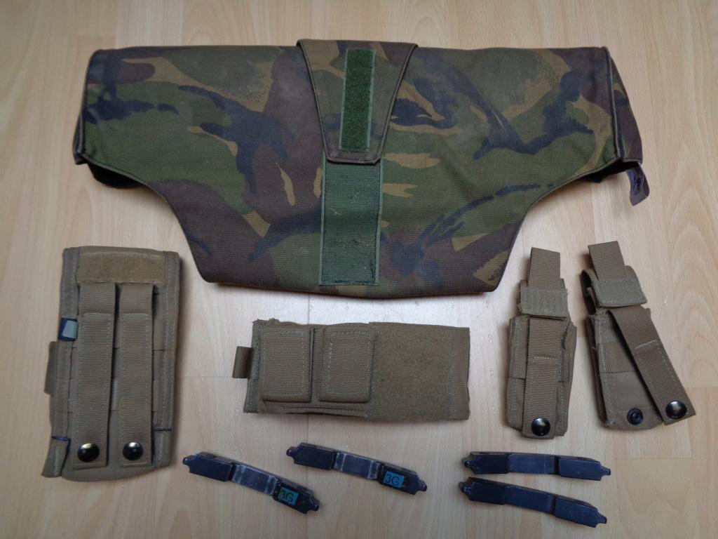 Dutch uniform and body armor as used in Mali, Fibrotex Fightex and Profile Equipment Moral SF, and more related gear (Profile, Diamondback) Dsc00219