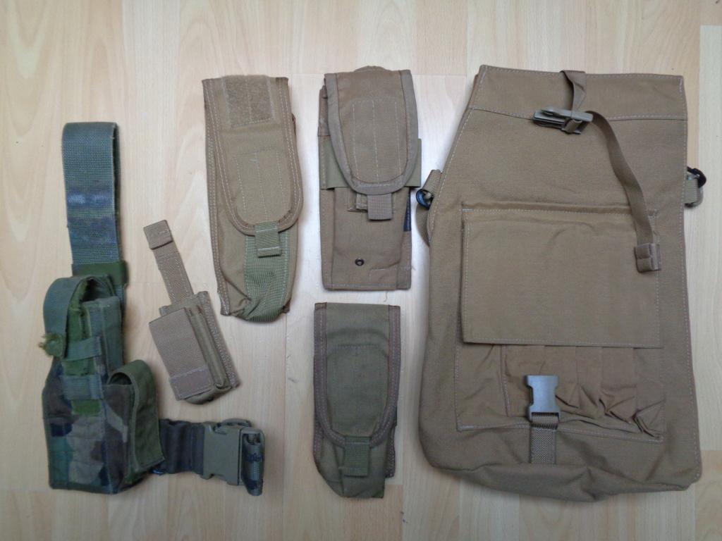 Dutch uniform and body armor as used in Mali, Fibrotex Fightex and Profile Equipment Moral SF, and more related gear (Profile, Diamondback) Dsc00221
