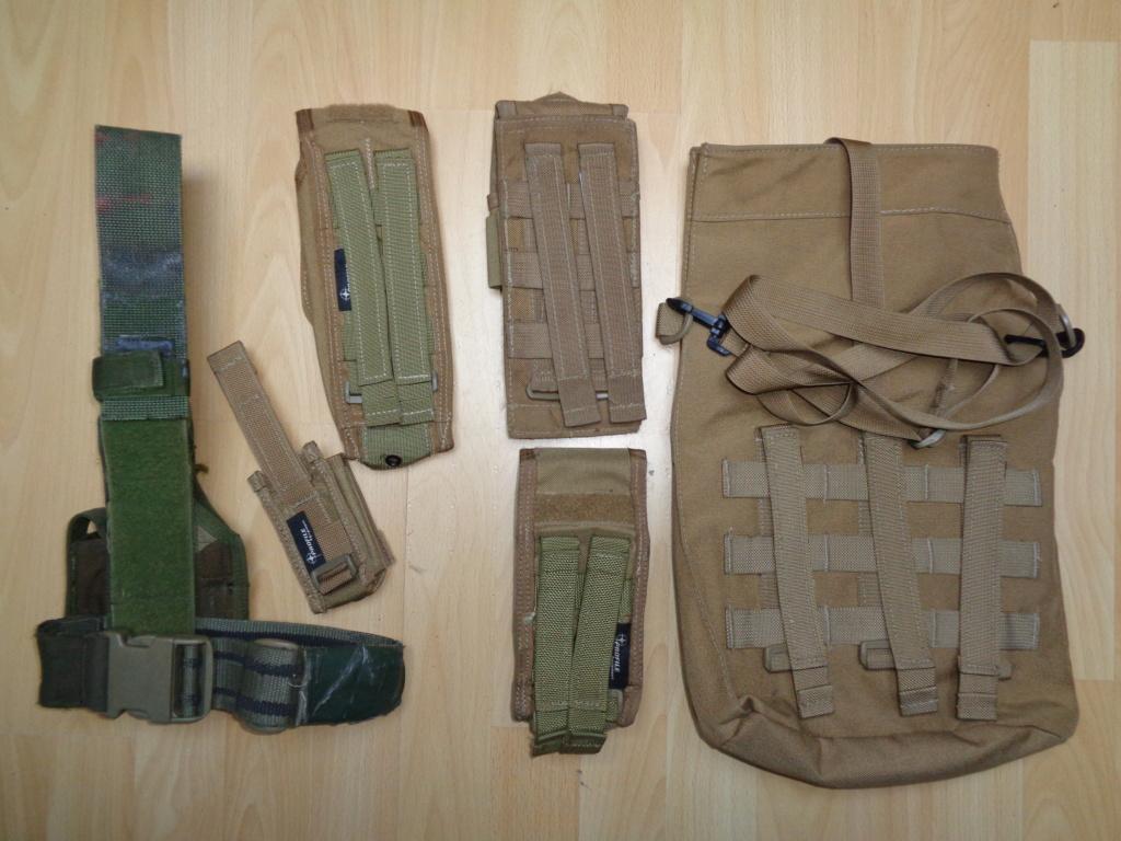 Dutch uniform and body armor as used in Mali, Fibrotex Fightex and Profile Equipment Moral SF, and more related gear (Profile, Diamondback) Dsc00222
