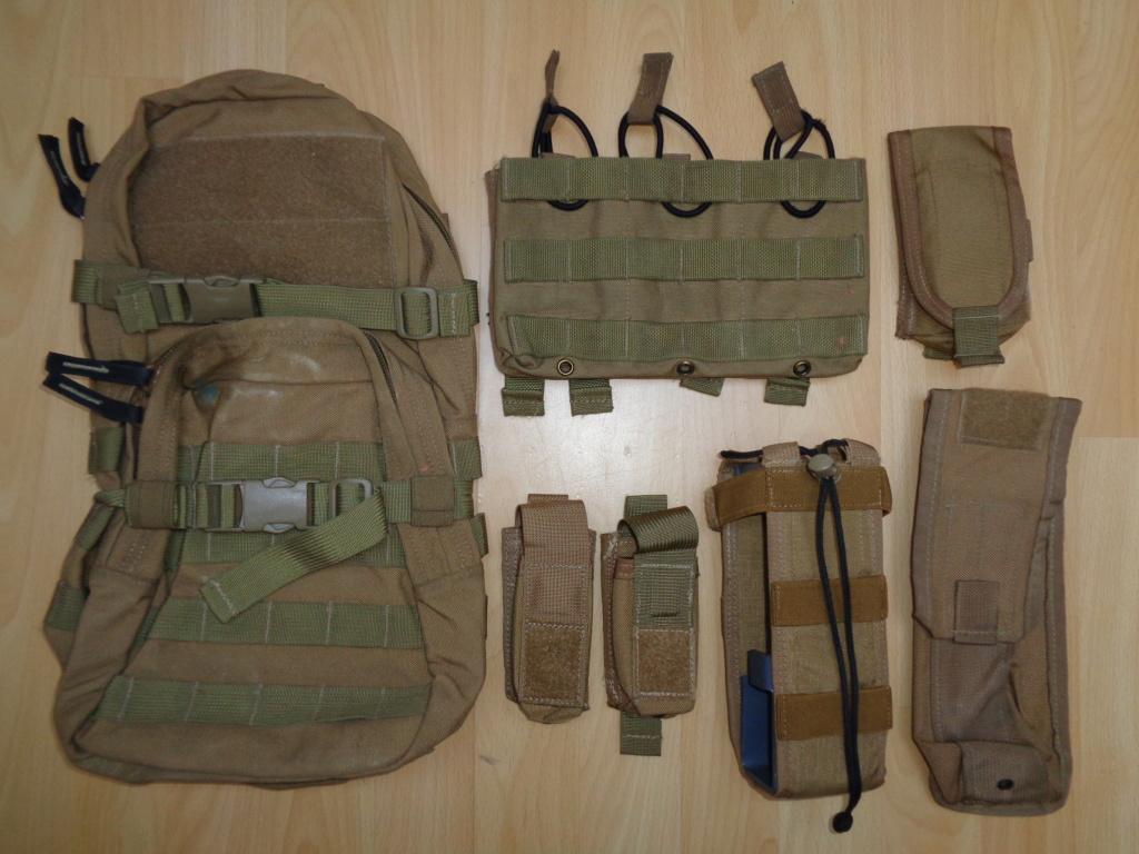 Dutch uniform and body armor as used in Mali, Fibrotex Fightex and Profile Equipment Moral SF, and more related gear (Profile, Diamondback) Dsc00226