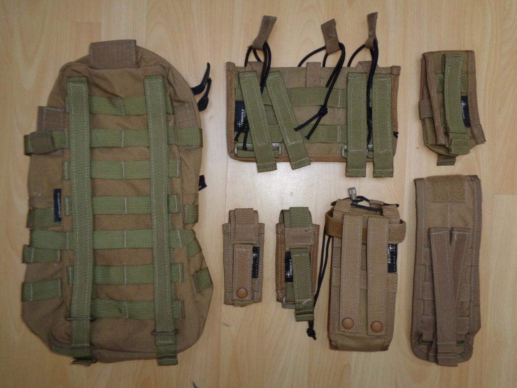 Dutch uniform and body armor as used in Mali, Fibrotex Fightex and Profile Equipment Moral SF, and more related gear (Profile, Diamondback) Dsc00227