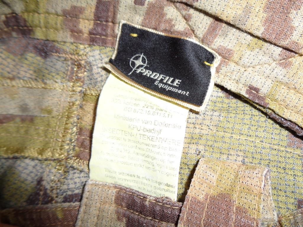 Dutch uniform and body armor as used in Mali, Fibrotex Fightex and Profile Equipment Moral SF, and more related gear (Profile, Diamondback) Dsc01115