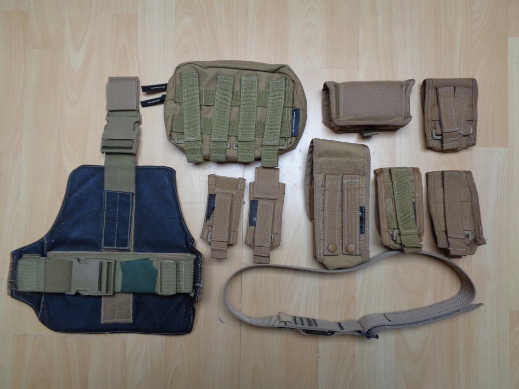 Dutch uniform and body armor as used in Mali, Fibrotex Fightex and Profile Equipment Moral SF, and more related gear (Profile, Diamondback) Dsc01217