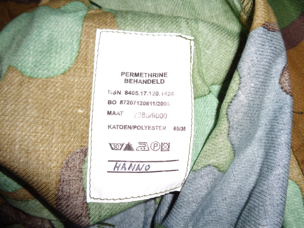 Really rare trial jungle camo combat uniform Dsc02441