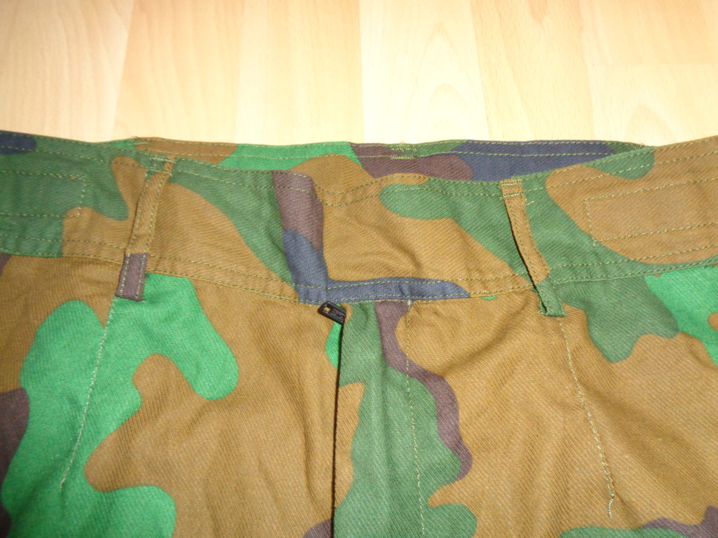 Really rare trial jungle camo combat uniform Dsc02526