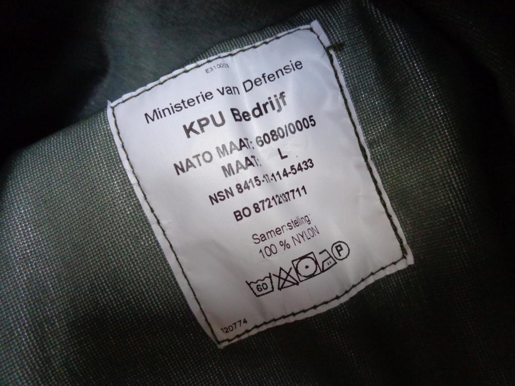 Dutch camo uniforms, newer versions from around 2008 onwards Dsc05427