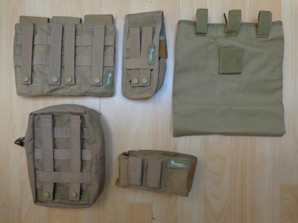 Dutch uniform and body armor as used in Mali, Fibrotex Fightex and Profile Equipment Moral SF, and more related gear (Profile, Diamondback) Dsc06537